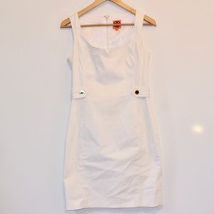 Tory Burch White Short Dress